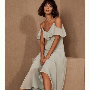ANTHROPOLIE BHLDNJenny Yoo Mila Convertible Dress